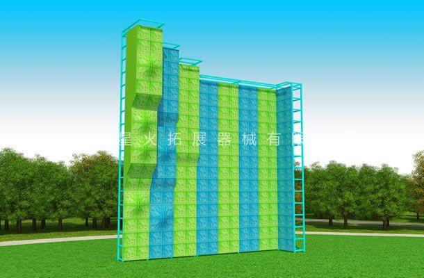重庆独立攀岩墙拓展基地项目-沧州星火拓展器械有限公司