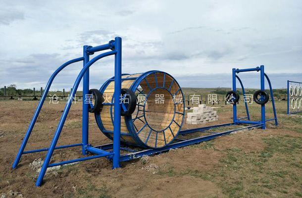 滚筒桥-户外拓展体能乐园-户外拓展训练器材