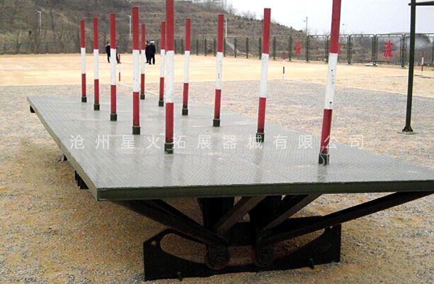 摇摆平台-户外拓展训练器材-场地拓展器械