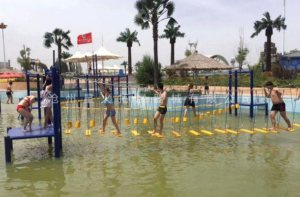 水上秋千桥-水上拓展训练器材-儿童水上拓展