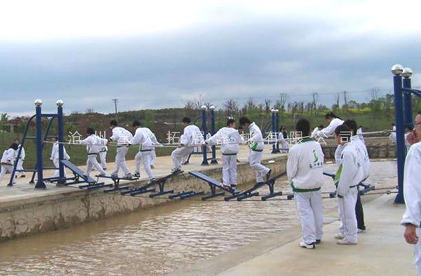 水上翘板桥-水上拓展设施-水上拓展器械