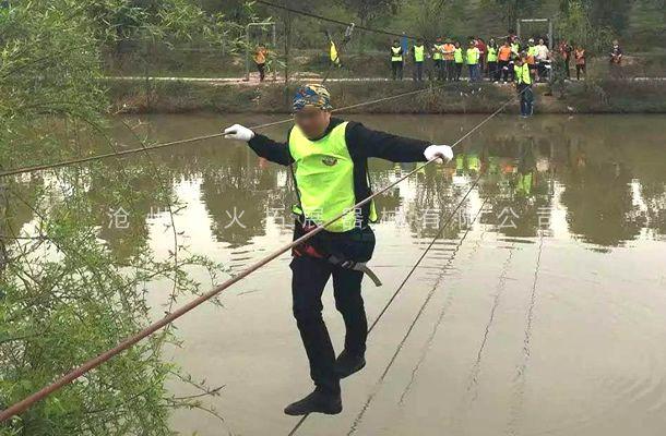 水上缅甸桥-水上拓展器材厂家-水上拓展项目