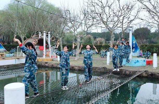 水上丛林绳桥-水上拓展乐园设施-水上拓展设备
