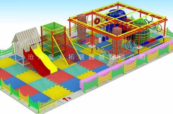 低型款儿童拓展1-儿童拓展乐园-儿童拓展设备