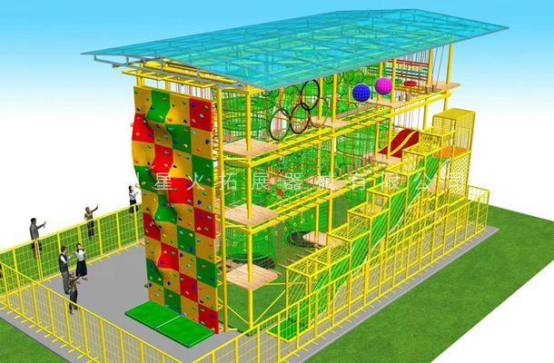 室外雨棚型2-儿童拓展器材-儿童拓展器械