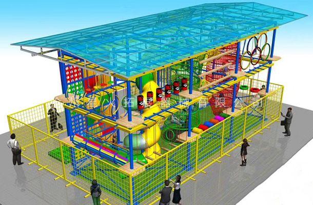 室外雨棚型3-儿童探险乐园设备-儿童拓展厂家