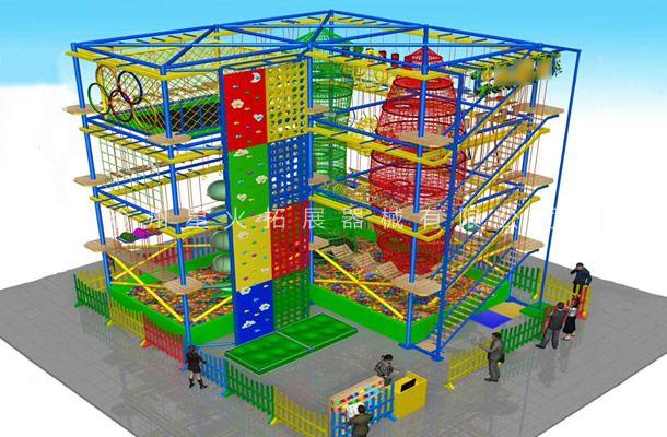 场地定制型儿童拓展1-儿童拓展乐园-儿童拓展设备