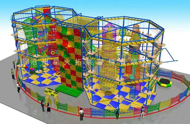 八边型儿童拓展2-儿童探险乐园设备-儿童拓展厂家