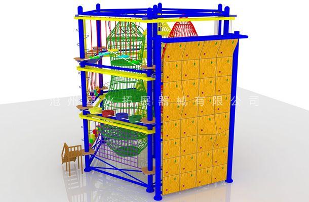 六边型儿童拓展1-儿童室内拓展设备-户外儿童拓展