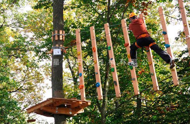 丛林攀岩-丛林探险器材-树上拓展设备