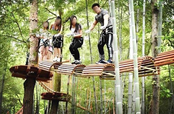 丛林拱桥-丛林探险-树上拓展设备