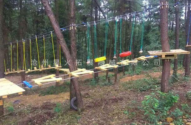 丛林字母桥-丛林拓展设备-丛林探险器械