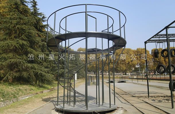 螺旋梯-400米渡海登岛-渡海登岛训练器材