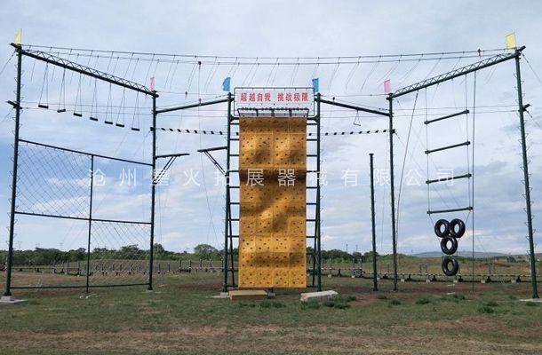M型高空拓展器材-高空拓展器材厂家-高空拓展架