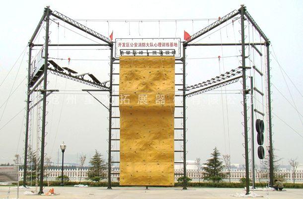 七面体高空拓展训练架-高空拓展器材-高空拓展器械