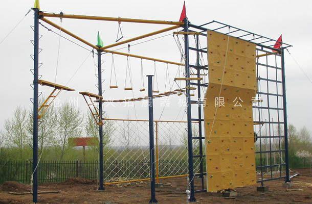 六面体高空拓展-高空拓展器械-高空拓展训练设备