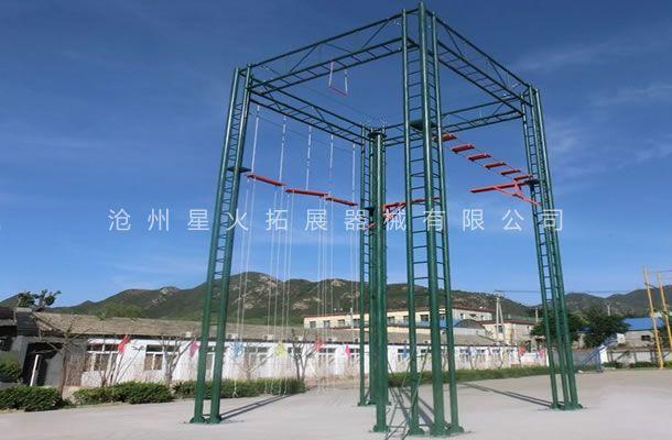 四面体高空-高空拓展训练设备-高空拓展器械