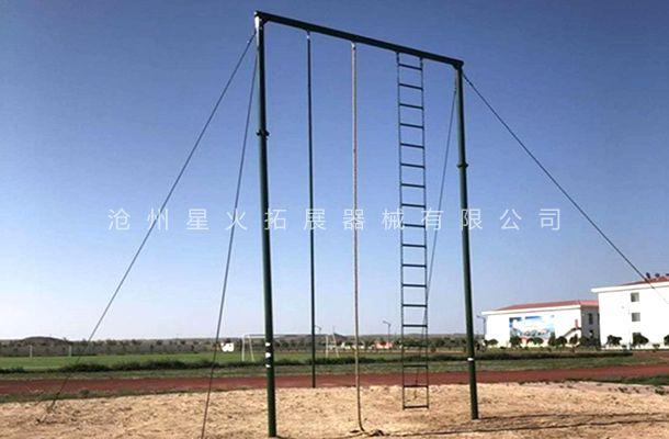 高空滑杆-高空单项器材-高空速滑-高空拓展滑杆