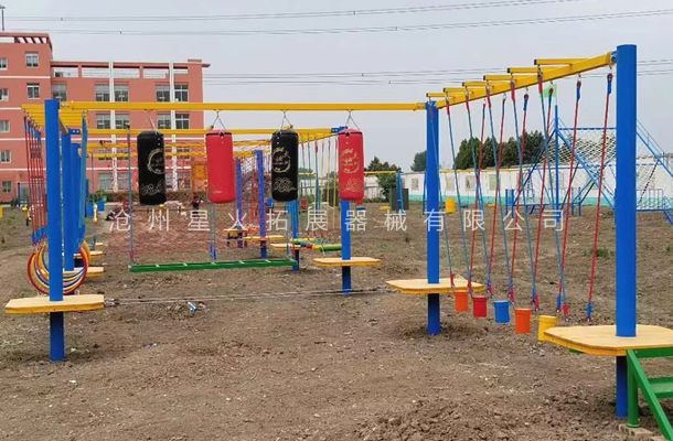 安徽省宿州市青少年拓展训练基地建设完毕客户已验收!