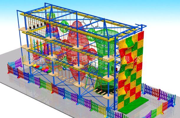 目字型儿童拓展1-儿童探险乐园设备-儿童拓展厂家