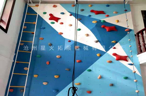 室内儿童房攀岩墙XH-8-儿童房定制攀岩墙-家庭攀爬墙